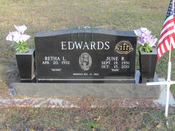 June Ray Edwards