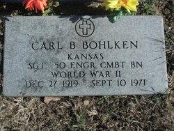 Carl B Bohlken