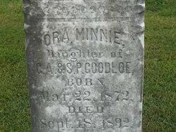 Ora Minnie Goodloe