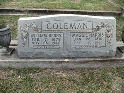 Maggie <i>Harris</i> Coleman