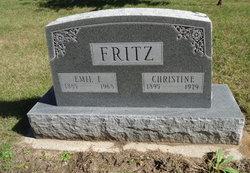 Christine <i>Malke</i> Fritz