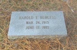 Harold T. Burgess