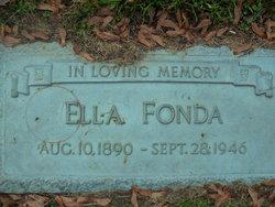 Ella Fonda
