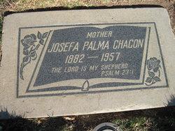 Josefa <i>Palma</i> Chacon