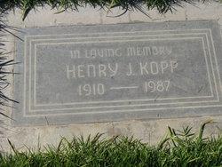Henry J. Kopp