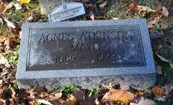Agnes <i>Atkinson</i> Mayo