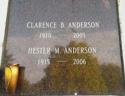 Hester Mae <i>Thompson</i> Anderson
