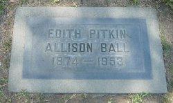 Edith <i>Pitkin</i> Ball