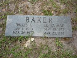 Letta Mae <i>Carter</i> Baker