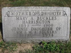 Eliza Jane Jennie Buckles
