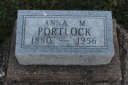 Anna M. <i>Lesher</i> Portlock