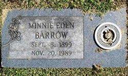 Minnie <i>Eden</i> Barrow