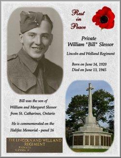 Pvt William Bill Slessor
