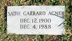 Sadie <i>Garrard</i> Agner