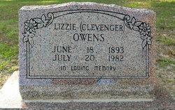 Lizzie <i>Clevenger</i> Owens