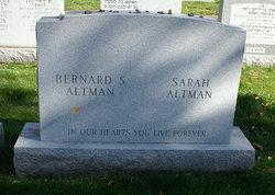 Sarah <i>Zeldis</i> Altman