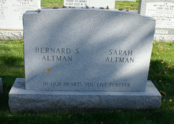 Bernard S Altman