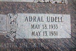Adral Udell Vance