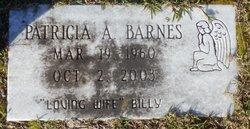 Patricia Ann <i>Haddock</i> Barnes