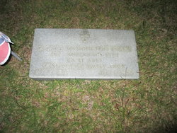 Pvt George Washington Evans
