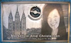 Mackenzie Allie Kenzie Christensen