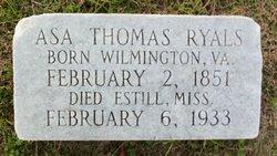 Asa Thomas Ryals