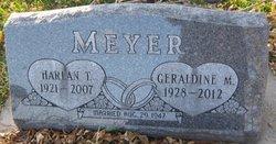 Geraldine Mary <i>Bauman</i> Meyer