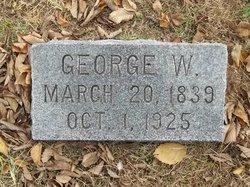 Rev George Washington G W Akers