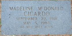 Madeline <i>McDonald</i> Cicardo