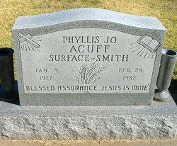 Phyllis Jo <i>Surface</i> Acuff