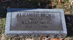 Mary Elizabeth <i>Brown</i> Mayo