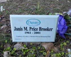 Janis M <i>Price</i> Brooker