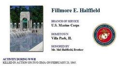 Pvt Fillmore E Halffield
