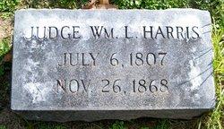 Judge William Littleton Harris