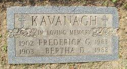 Bertha Dolores <i>Ronan</i> Kavanagh