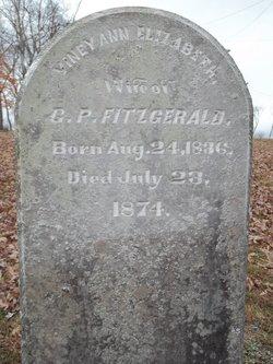 Lavinia Ann Elizabeth Viney <i>Ferguson</i> Fitzgerald