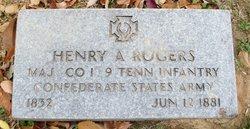 Maj Henry A. Hal Rogers