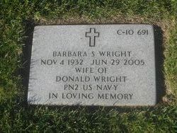 Barbara Sue <i>Tryon</i> Wright