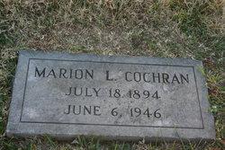 Marion Louise <i>Sanders</i> Cochran