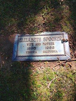 Elizabeth L Bettie <i>Switzer</i> Spooner