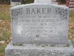Izora E. <i>Vosburgh</i> Baker