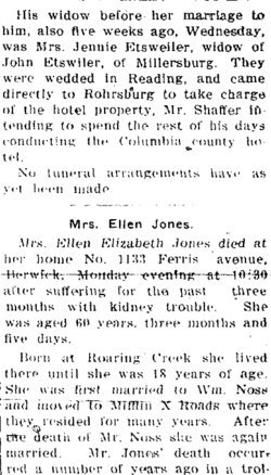 Ellen Elizabeth <i>Hower</i> Naus Jones