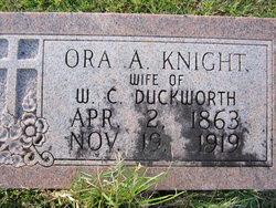 Ora Azlene <i>Knight</i> Duckworth