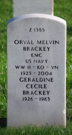 CPO Orval Melvin Brackey