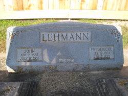 Johann John Lehmann