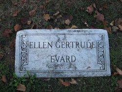 Ellen Gertrude <i>Hollopeter</i> Evard