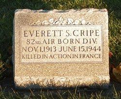 PFC Everett S Cripe
