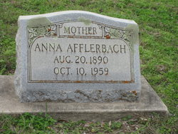 Anna W. Annie <i>Bade</i> Afflerbach