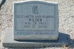 Elizabeth Ann <i>Harris</i> Wilder