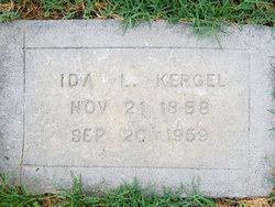 Ida L. <i>Waters</i> Kergel